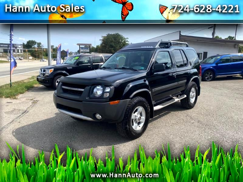 used 2004 nissan xterra xe 4wd for sale in pittsburgh pa 15219 hann auto sales hann auto sales
