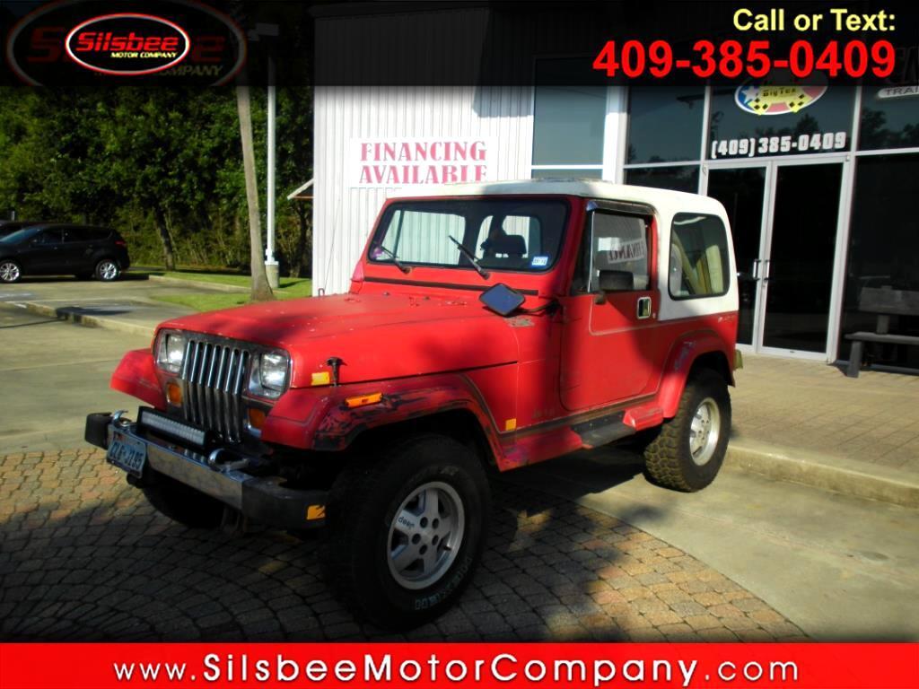 1989 Jeep Wrangler 2dr Laredo