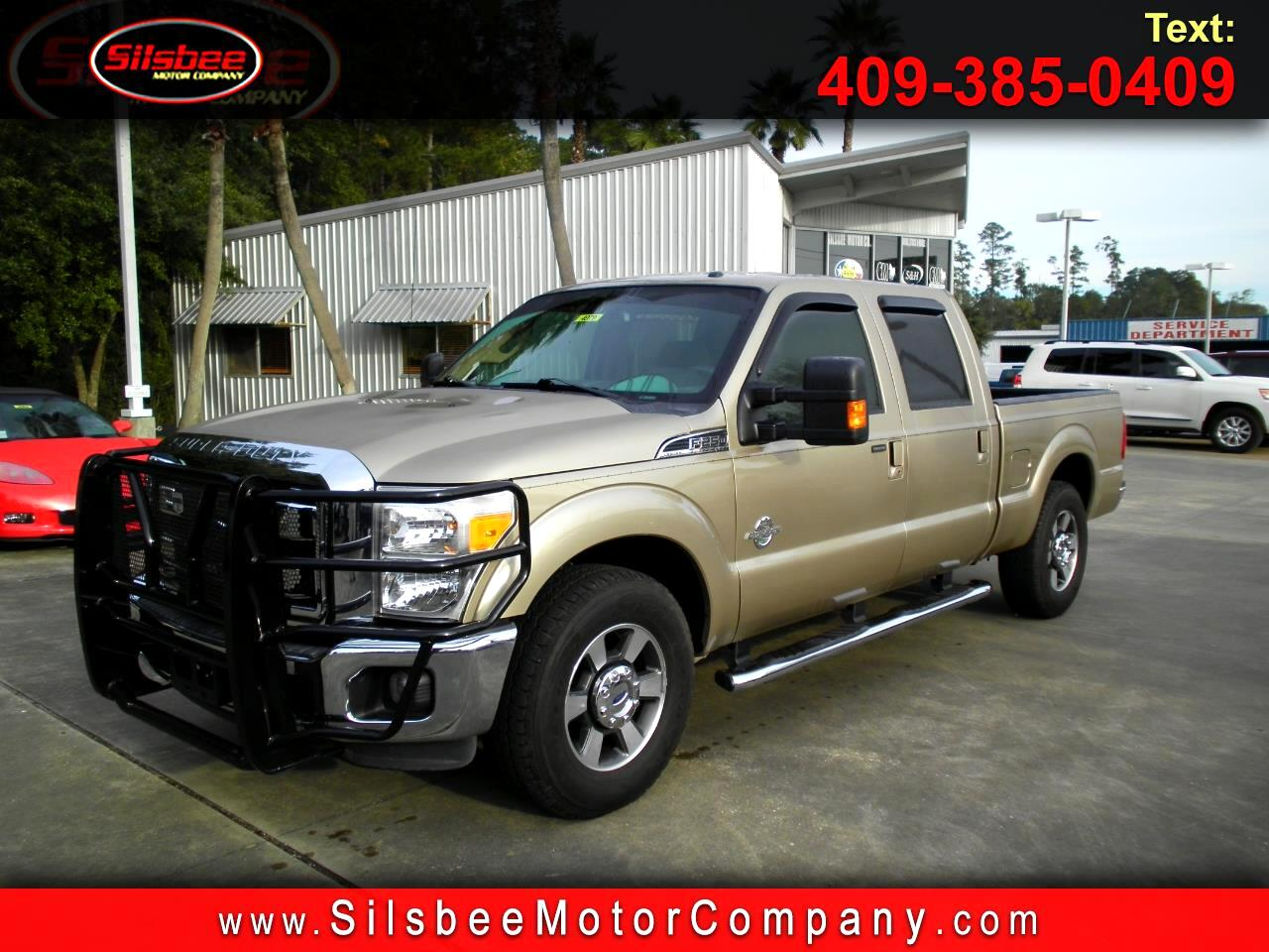 2012 Ford Super Duty F-250 SRW 2WD Crew Cab 156