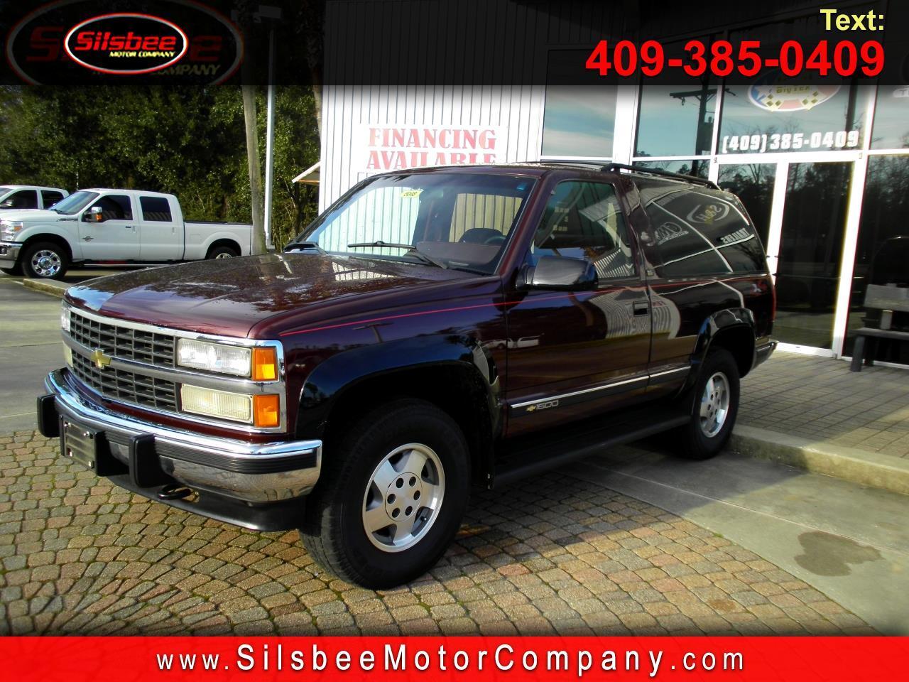 1993 Chevrolet K Blazer K1500 4WD