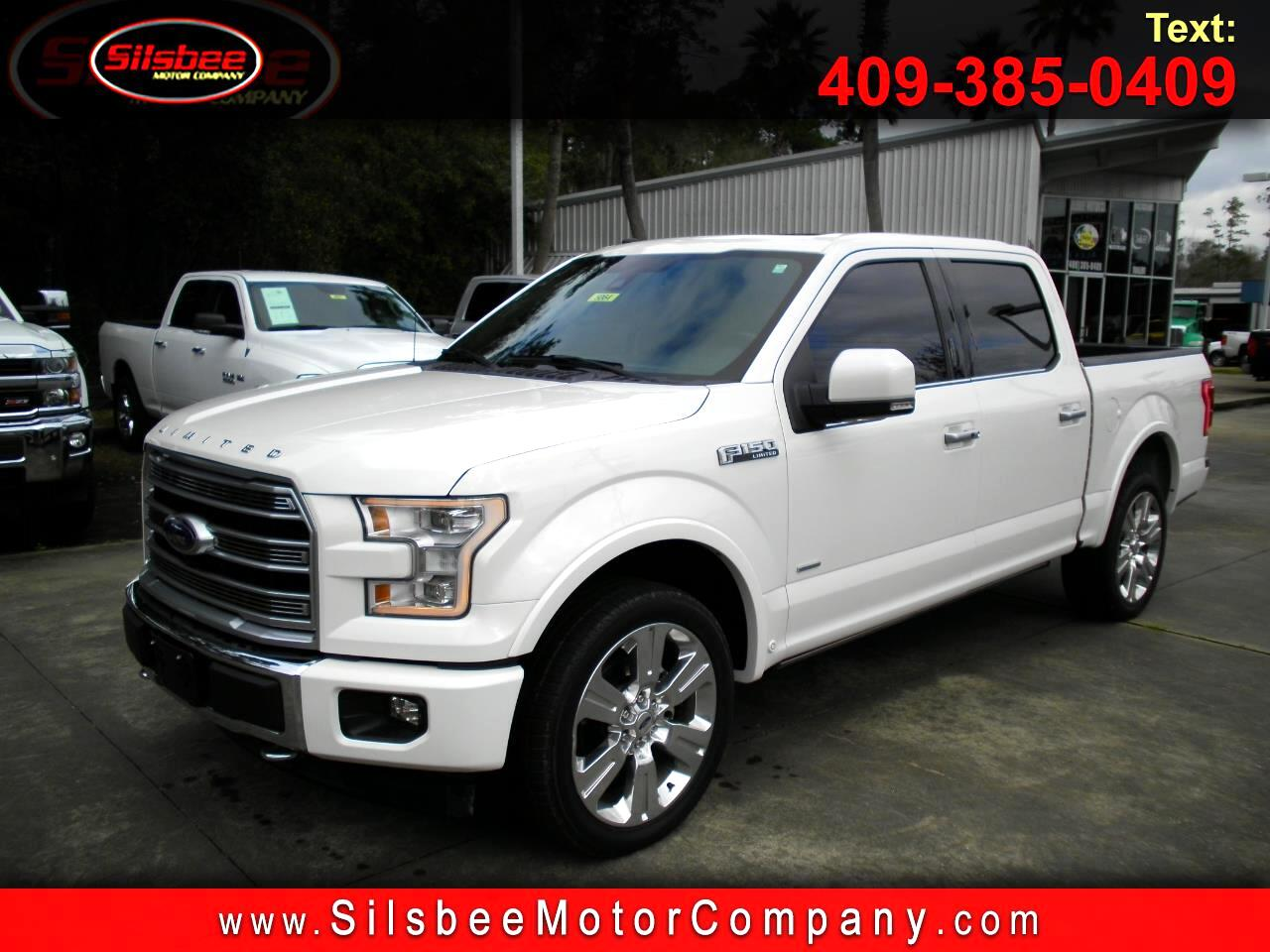 2017 Ford F-150 Limited 4WD SuperCrew 5.5' Box
