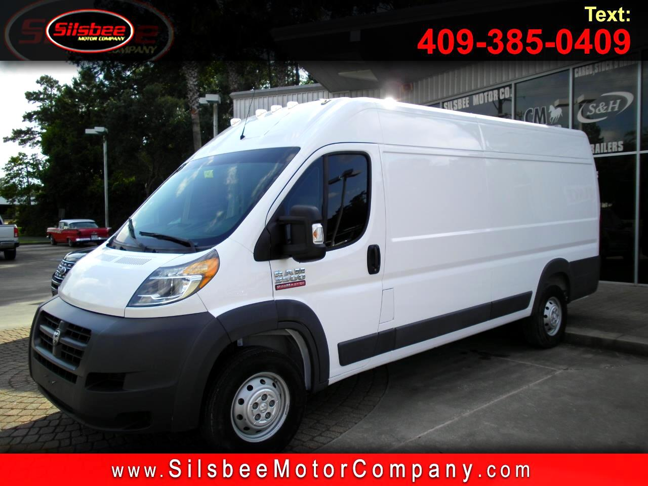 "2017 RAM ProMaster Cargo Van 3500 High Roof 159"" WB EXT"