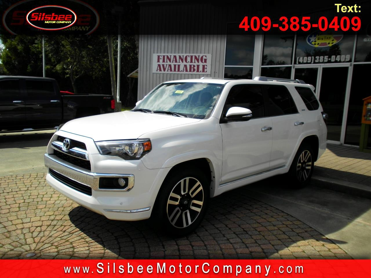 Toyota 4Runner Limited 2WD (Natl) 2018