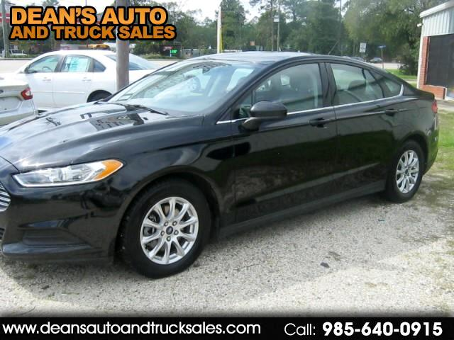 2016 Ford Fusion S AUTOMATIC