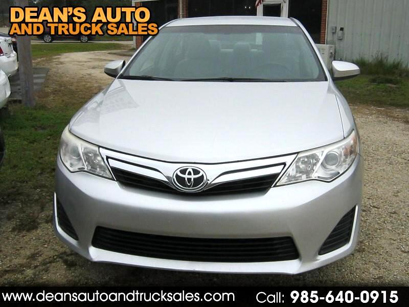 2012 Toyota Camry LE AUTOMATIC