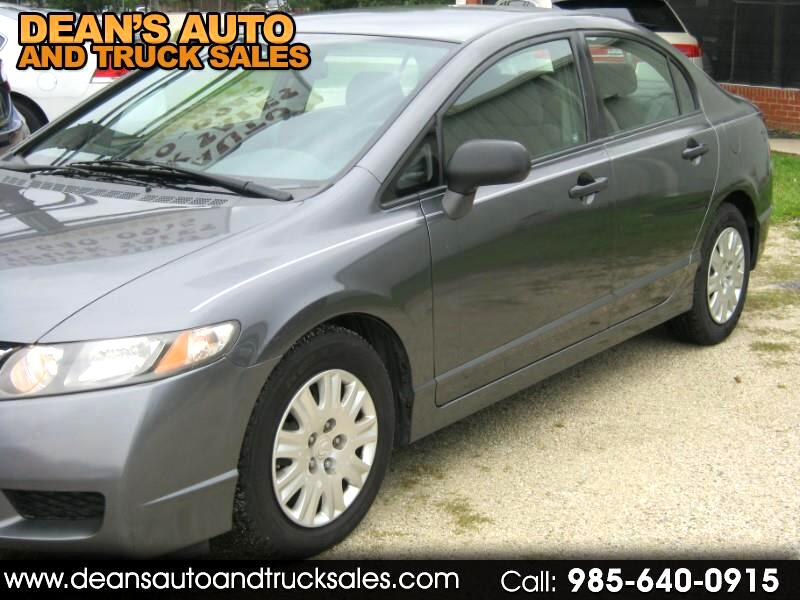 2010 Honda Civic sedan AUTOMATIC