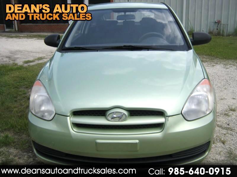 2008 Hyundai Accent 3dr HB Cpe GL Manual