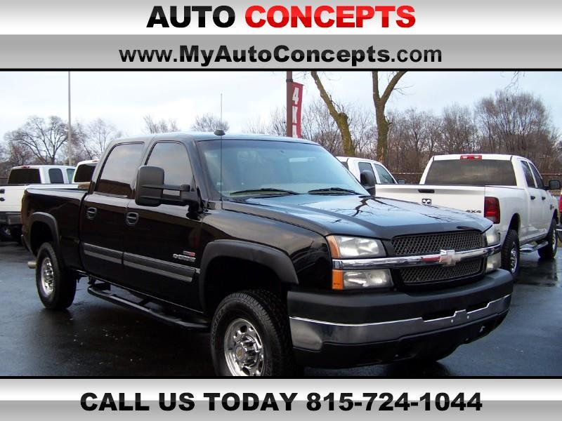 2004 Chevrolet Silverado 2500HD LT Crew Cab Short Bed 2WD