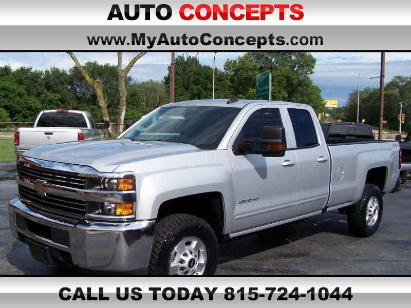 2017 Chevrolet Silverado 2500HD LT Double Cab Long Box 4WD