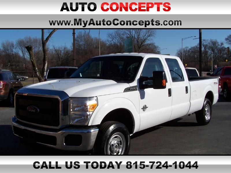 Ford F-250 SD XL Crew Cab Long Bed 4WD 2015