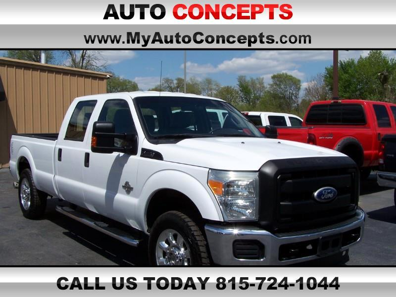 Ford F-250 SD XL Crew Cab Long Bed 4WD 2011