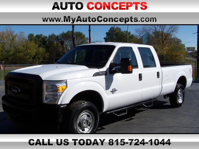 Ford F-350 SD XL Crew Cab Long Bed 4WD 2014