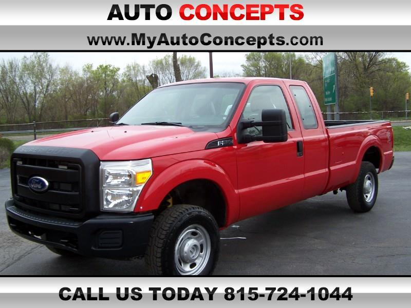 Ford F-250 SD XL SuperCab Long Bed 4WD 2011