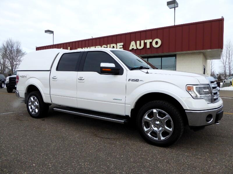 Ford F-150 Lariat SuperCrew 5.5-ft. Bed 4WD 2014