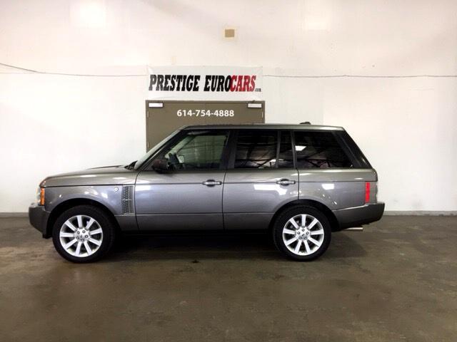 2008 Land Rover Range Rover 4WD 4dr SC