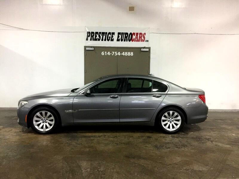 2010 BMW 7 Series 4dr Sdn 750i xDrive AWD