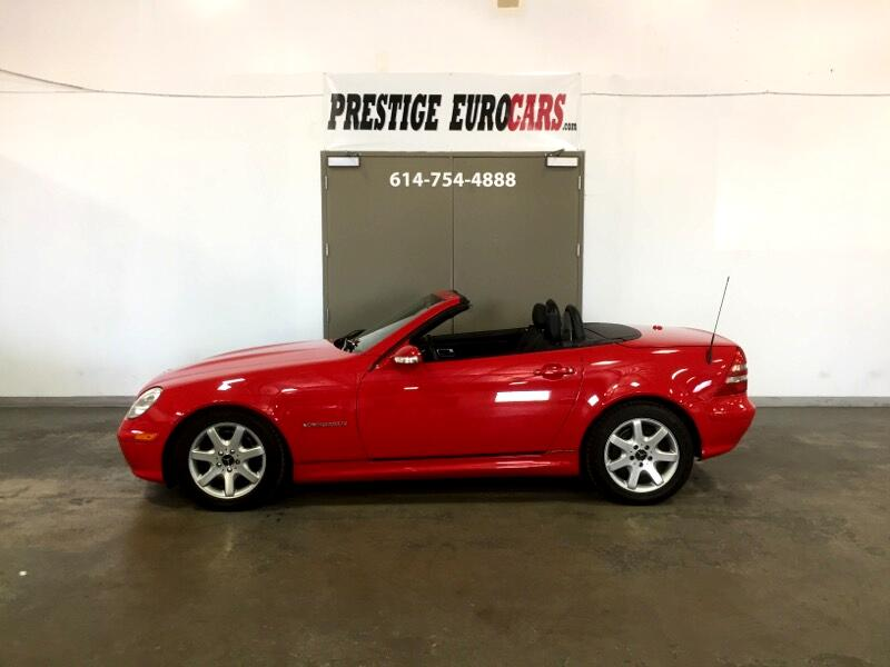 2002 Mercedes-Benz SLK-Class 2dr Kompressor Roadster 2.3L