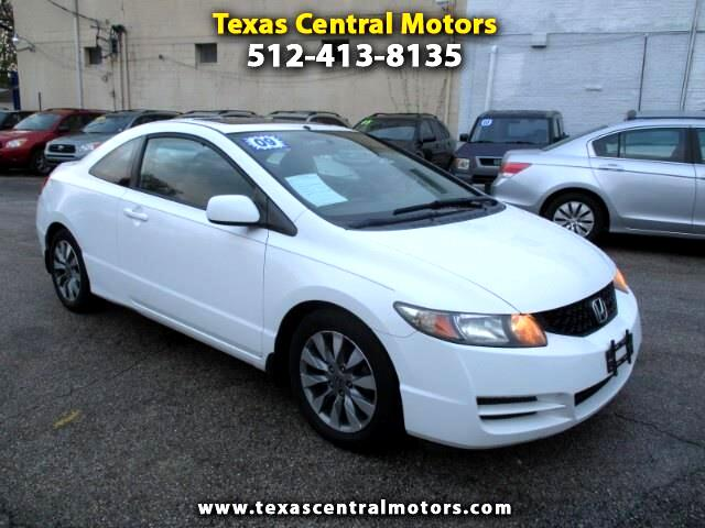 2009 Honda Civic EX-L Coupe 5-Speed MT