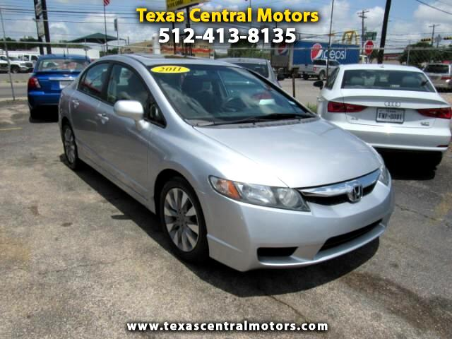 2011 Honda Civic EX sedan AT