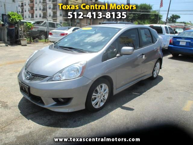 2010 Honda Fit Sport 5-Speed MT