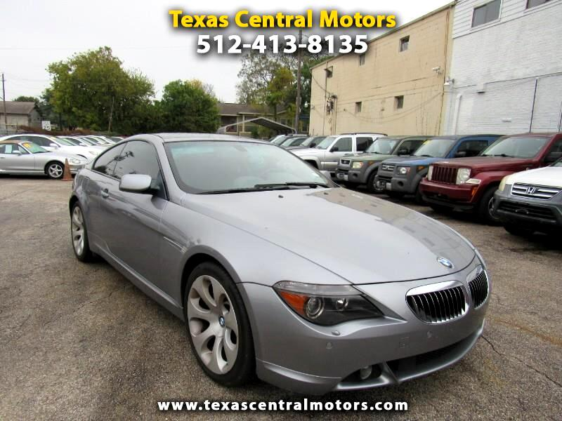 2004 BMW 6 Series 645Ci 2dr Cpe