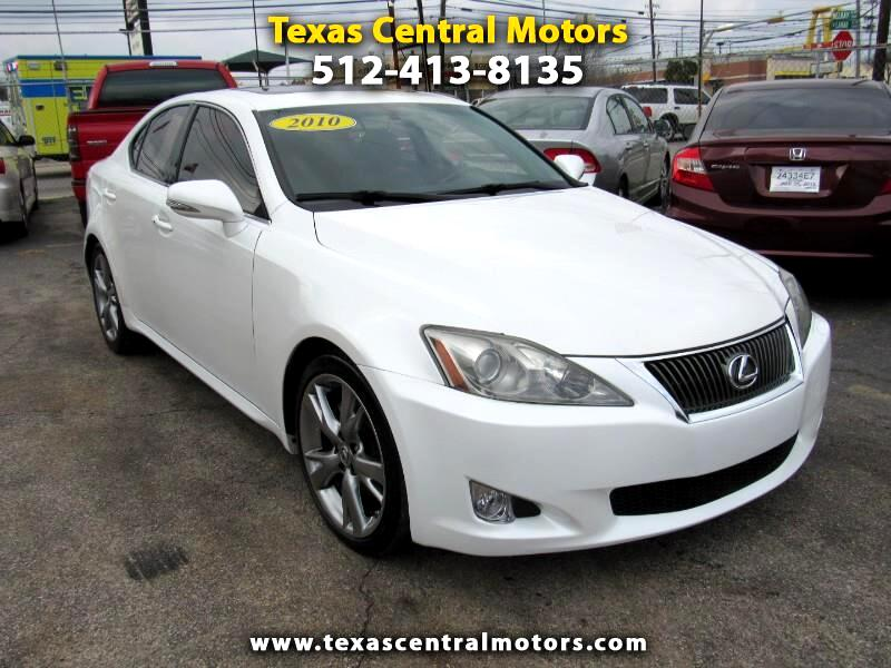 2010 Lexus IS 250 4dr Sport Sdn Auto RWD