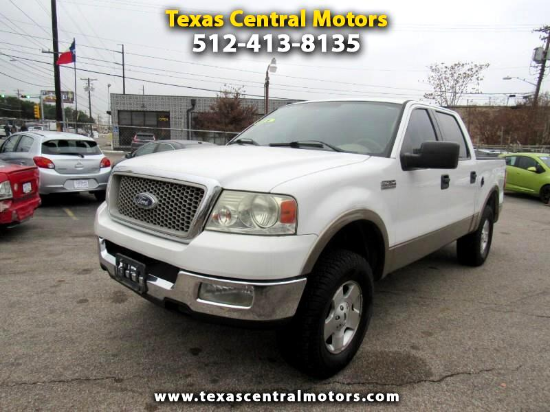 "Ford F-150 SuperCrew 139"" Lariat 4WD 2004"