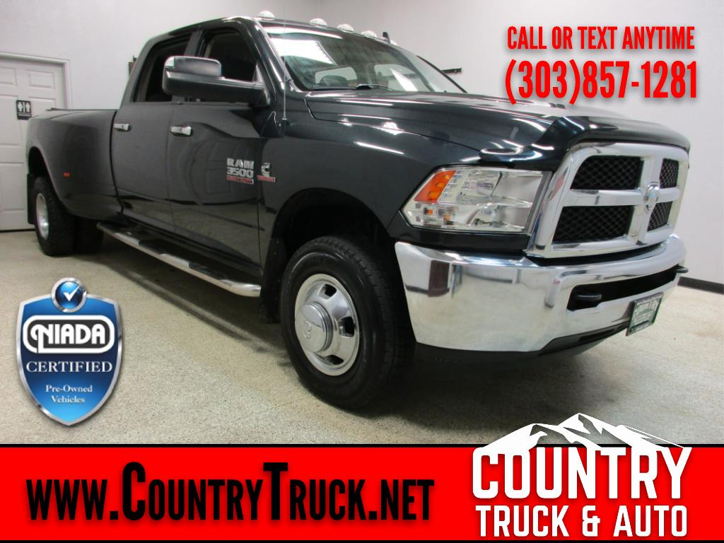 2014 RAM 3500 SLT Crew Cab Long Bed Dually
