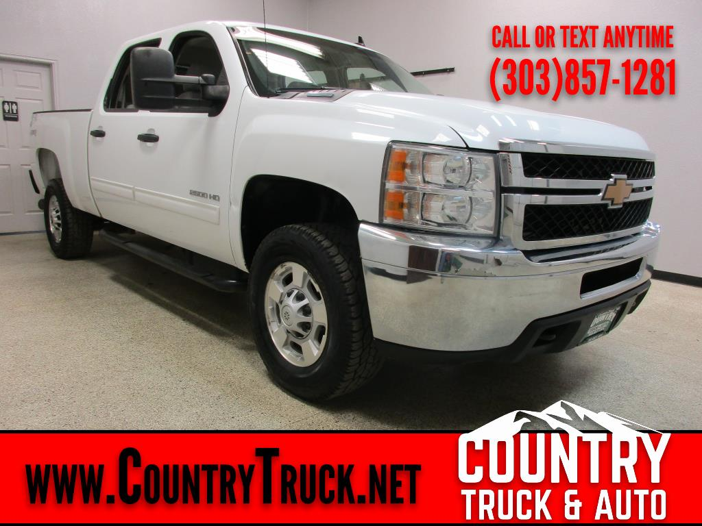 2012 Chevrolet Silverado 2500HD LT Crew Cab Short Bed 4WD