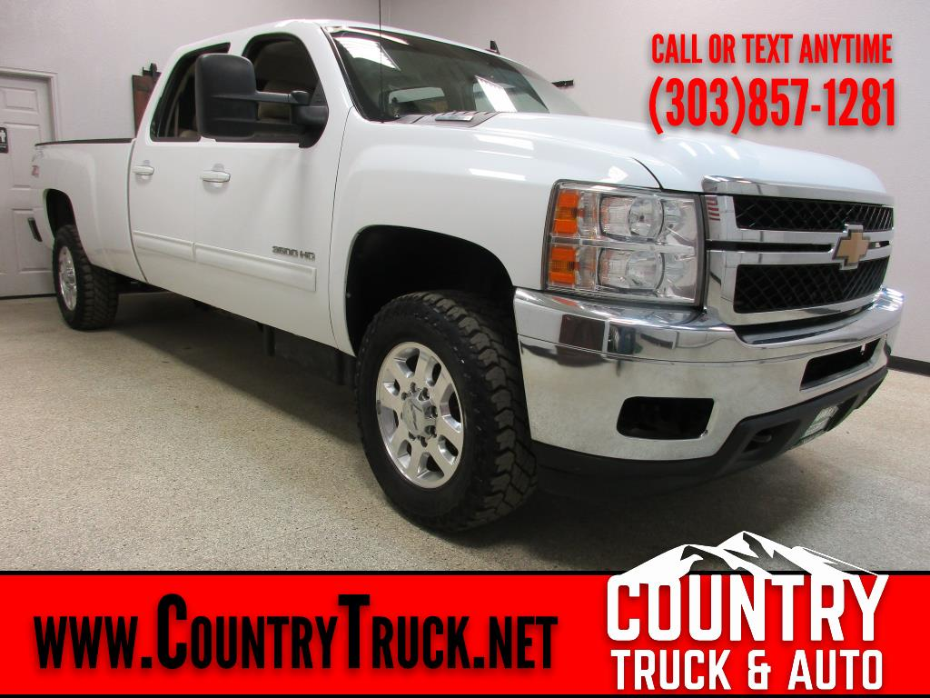 2014 Chevrolet Silverado 3500HD LTZ Crew Cab Long Bed 4WD