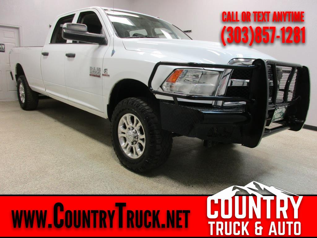 2013 RAM 2500 Tradesman Crew Cab Long Bed 4WD