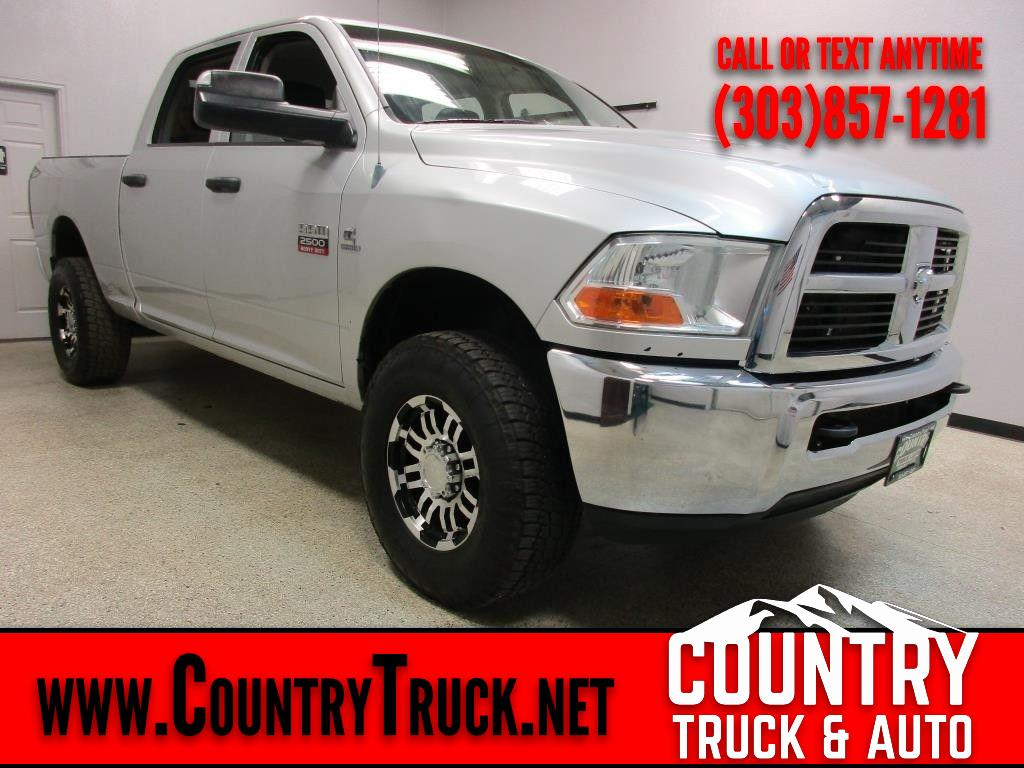 2012 RAM 2500 Tradesman Crew Cab Short Bed 4WD