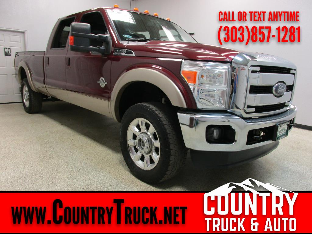 2012 Ford Super Duty F-350 SRW Lariat Crew Cab Long Bed 4WD