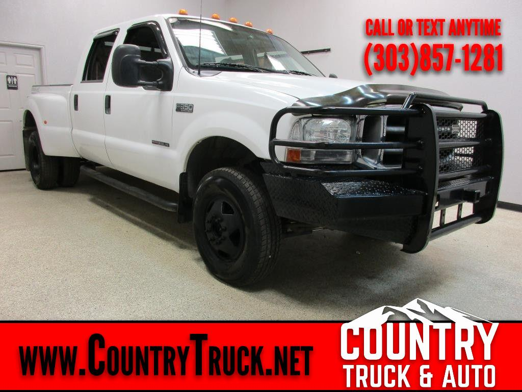 2000 Ford F-350 SD XLT Crew Cab Short Bed 4WD DRW