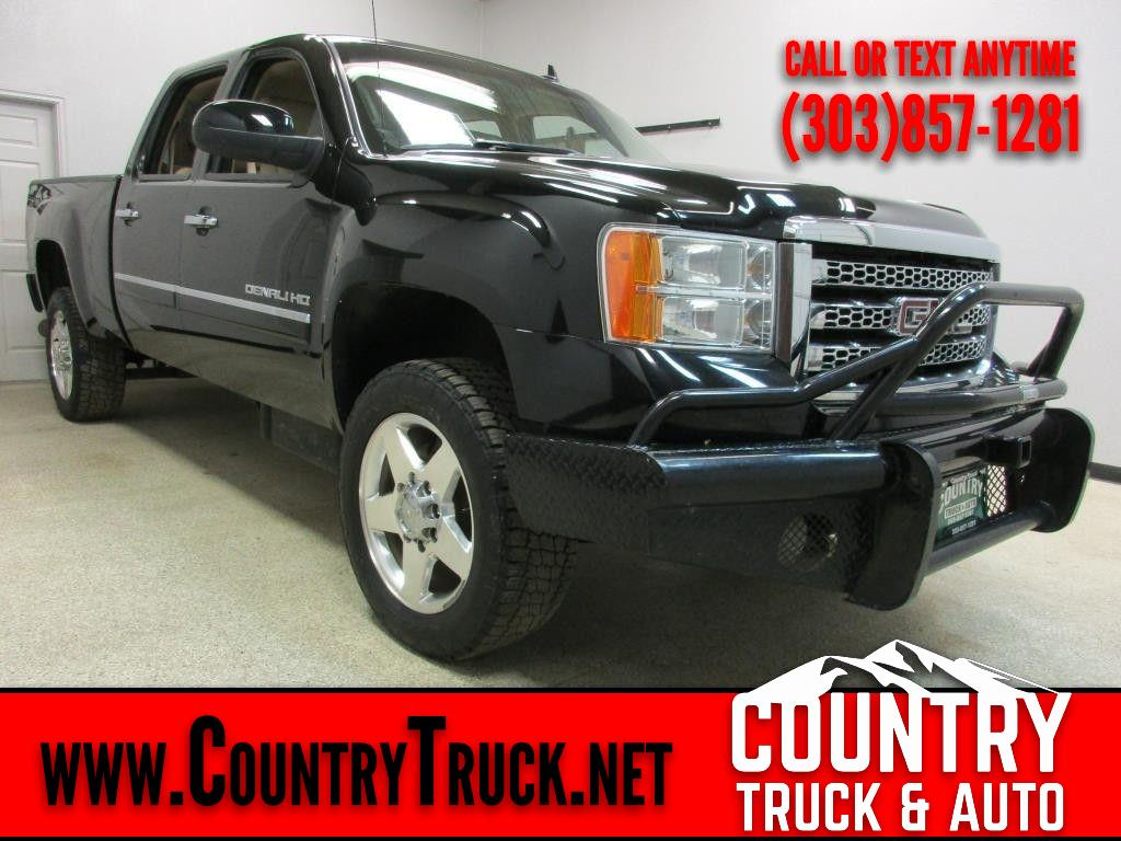 2012 GMC Sierra 2500HD Denali Crew Cab Short Bed 4WD
