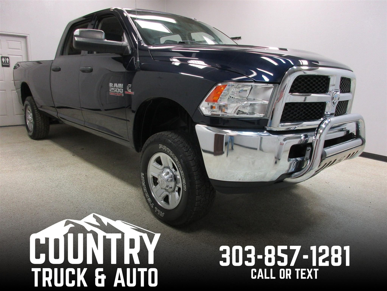 2016 RAM 2500 Tradesman Crew Cab Long Bed 4WD
