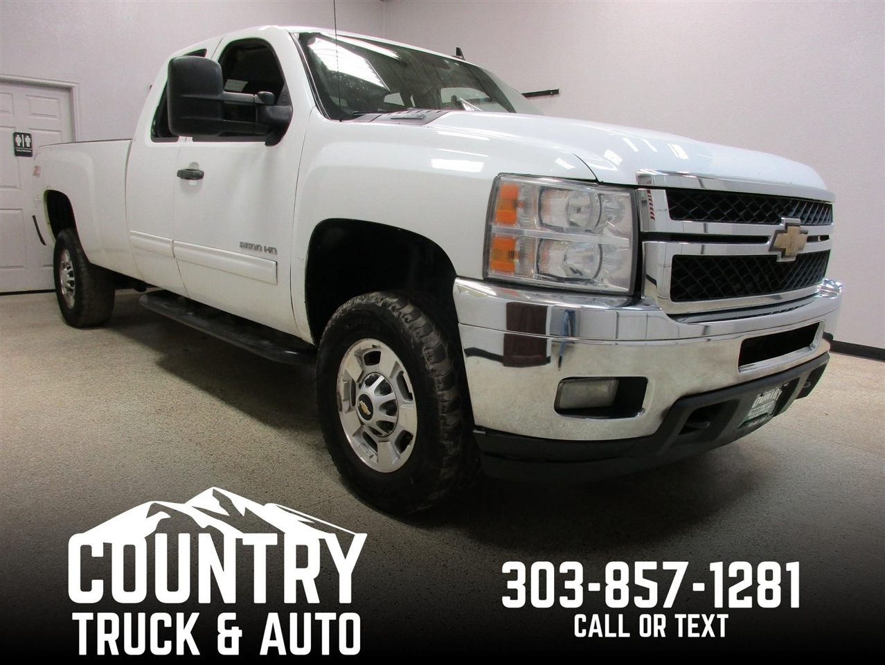 2011 Chevrolet Silverado 2500HD LT Extended Cab Long Bed 4WD
