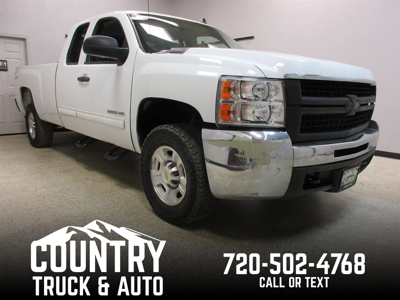 2010 Chevrolet Silverado 2500HD LT Extended Cab Long Bed 4WD