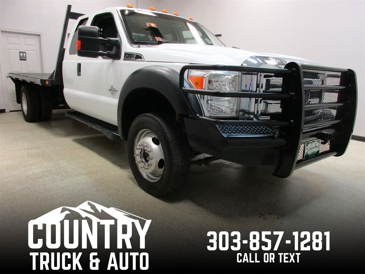 2012 Ford Super Duty F-550 DRW XLT Extended Cab 4WD DRW