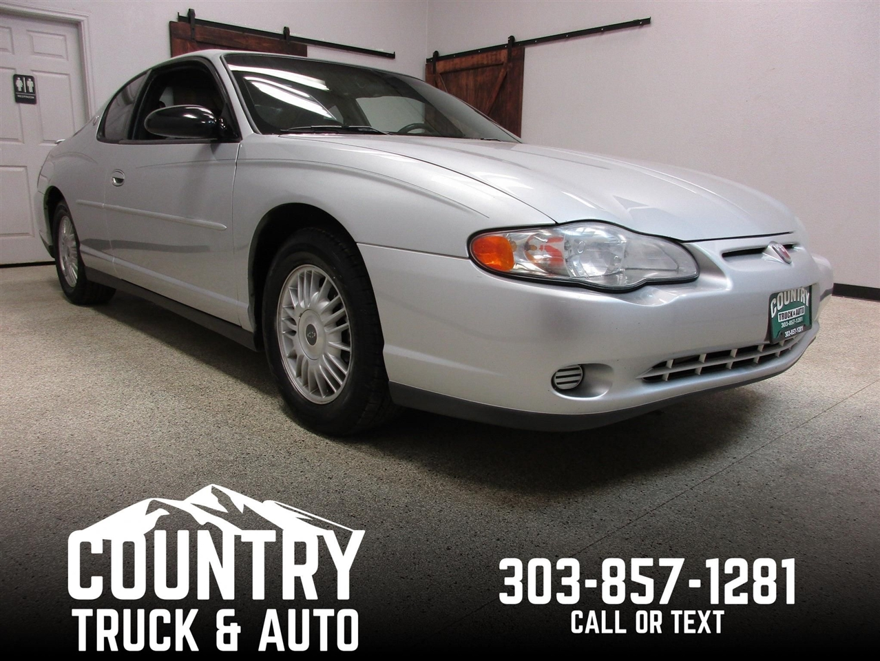 2002 Chevrolet Monte Carlo LS 2 Door Coupe