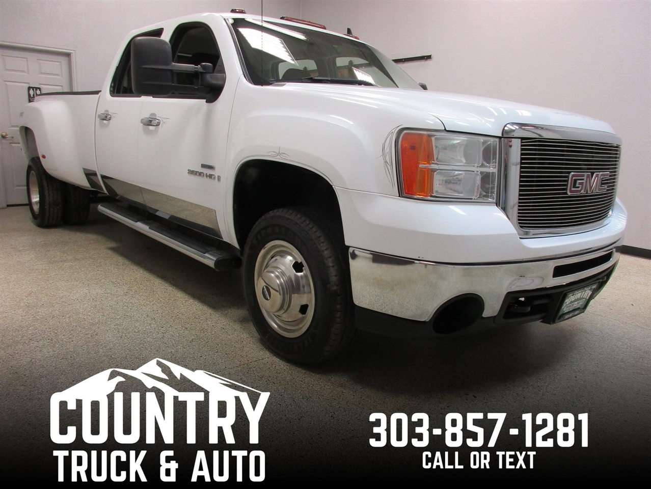 2009 GMC Sierra 3500HD Crew Cab Long Bed 4WD DRW
