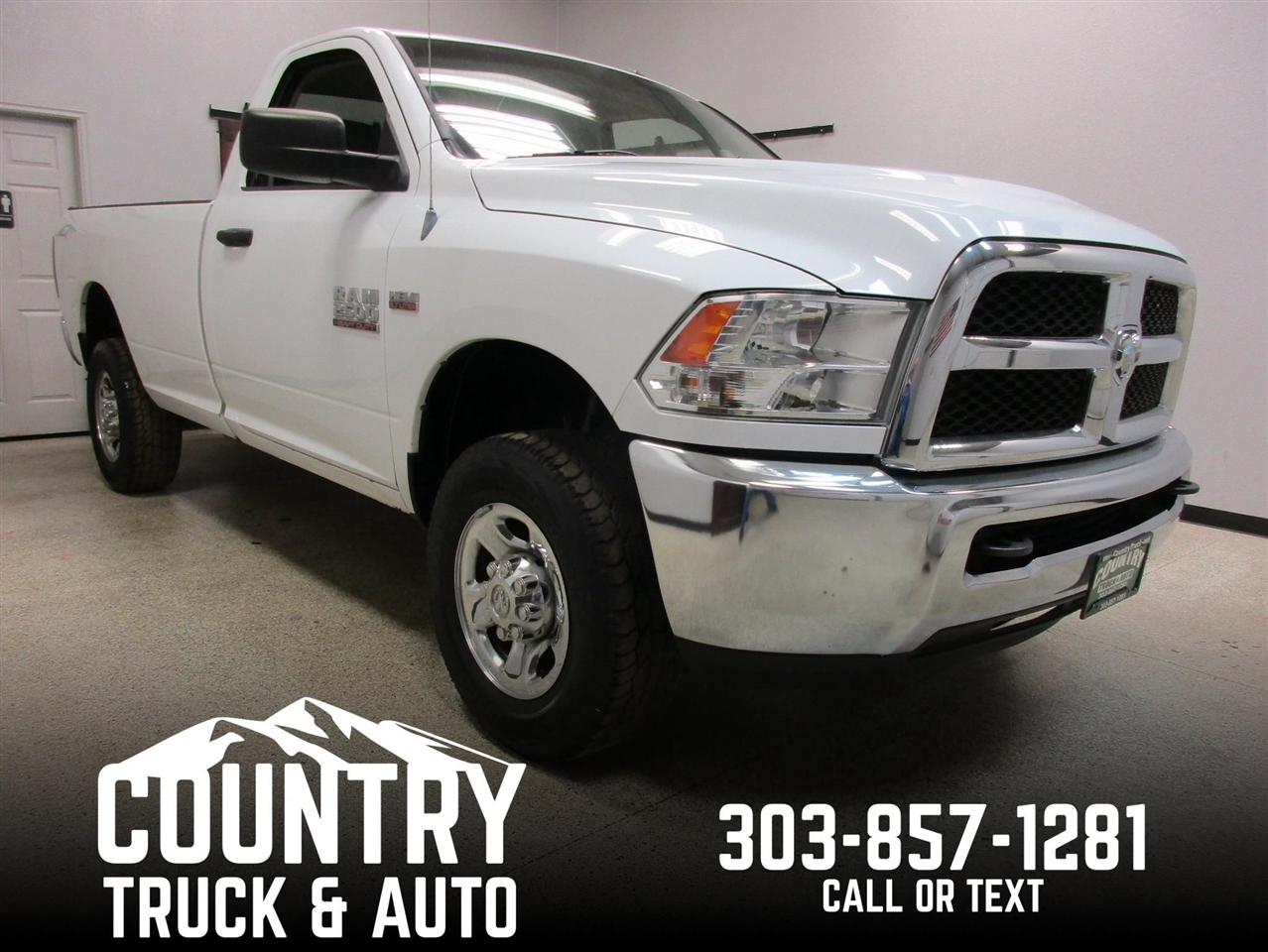 2013 RAM 2500 Tradesman Regular Cab Long Bed 4WD