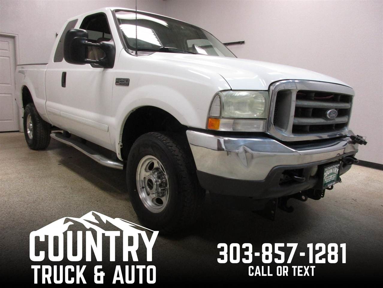 2002 Ford Super Duty F-250 Lariat SuperCab Short Bed 4WD