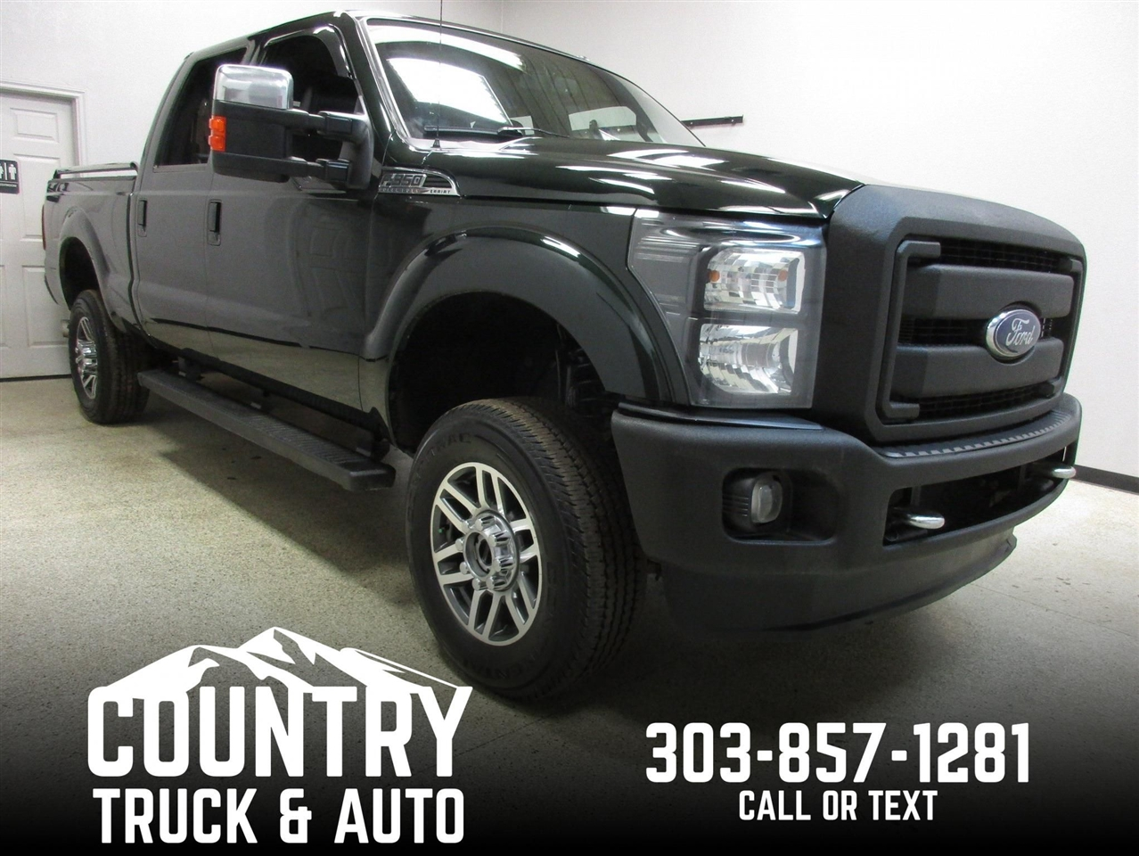 2012 Ford Super Duty F-350 SRW Lariat Crew Cab Short Bed 4WD