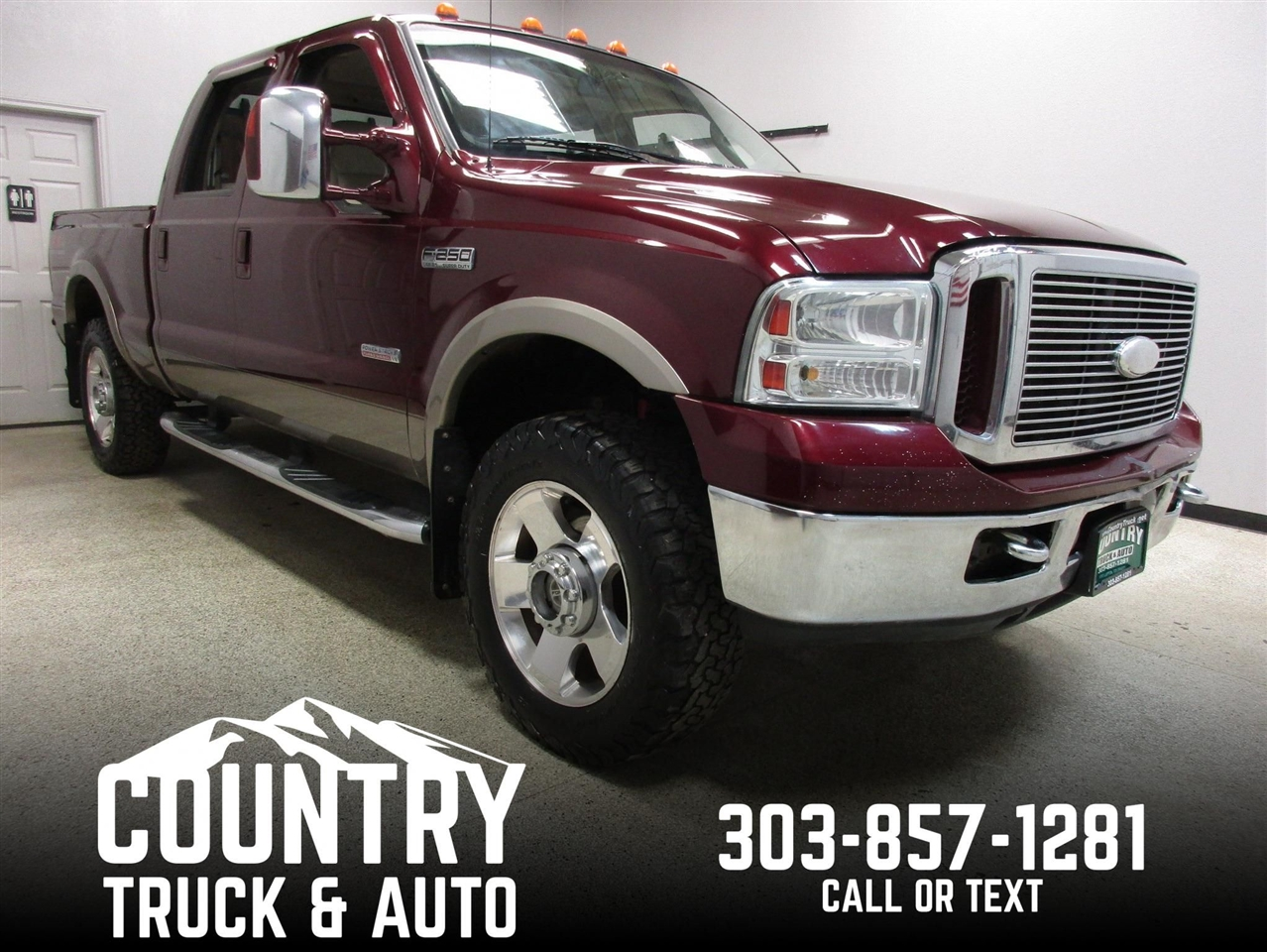 2006 Ford Super Duty F-250 Lariat Crew Cab Short Bed 4WD