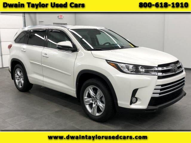 2018 Toyota Highlander Limited AWD V6
