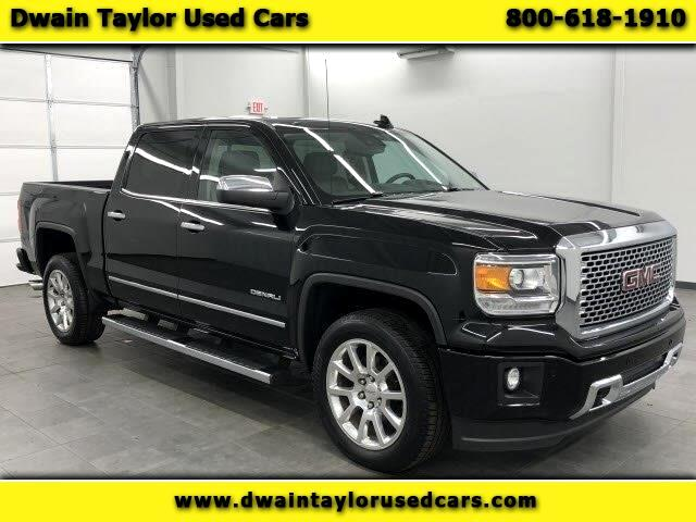 2015 GMC Sierra 1500 Denali Crew Cab Long Box 4WD