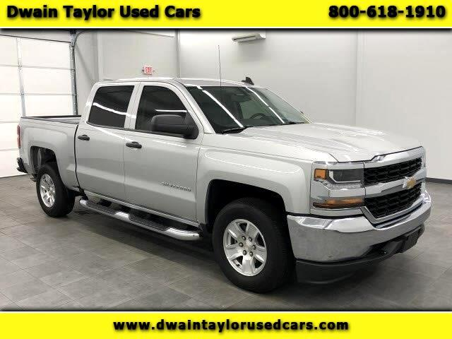 2018 Chevrolet Silverado 1500 LS Crew Cab Long Box 2WD
