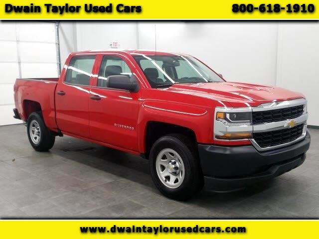 2017 Chevrolet Silverado 1500 Work Truck Crew Cab Long Box 2WD