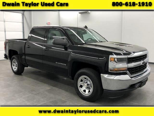 2017 Chevrolet Silverado 1500 LS Crew Cab Long Box 4WD